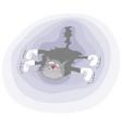 soft figure skating vector image
