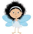 cute little angel vector image