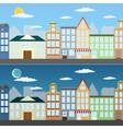 Summer cityscape vector image vector image