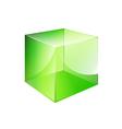 box green glossy vector image