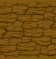 cracked pattern of brown earth seamless soil vector image