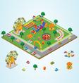 Isometric carnival vector image vector image