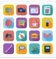 Flat icons for Web Design vector image