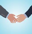 handshake agreement vector image