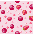 Sweet beautiful seamless background vector image
