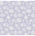 Snowlakes pattern vector image