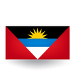Antigua And Barbuda Flag vector image