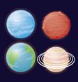system solar design vector image