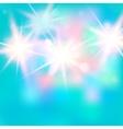 shiny bright light vector image