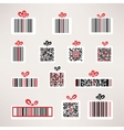 Present barcode image set Template for your design vector image