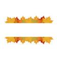 big autumn sale design vector image