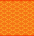 traditional asian wave pattern vector image