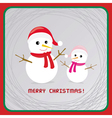 Christmas greeting card17 vector image