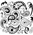 High quality seamless colored pattern with many vector image
