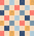 Childish seamless pattern vector image