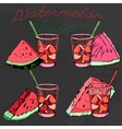 Watermelon 09 A vector image