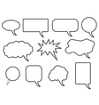 Speech bubles vector image
