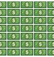 bills money pattern isolated icon vector image