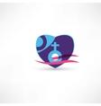 Venus sign icon vector image