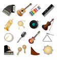Musical instuments vector image