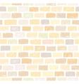 Brick wall light seamless pattern drawing vector image