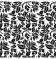 Seamless pattern with raspberry branches and vector image vector image