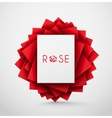 Abstract Rose vector image vector image