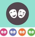 Theatre icon vector image
