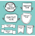 Frames borders and other elements for your design vector image