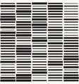 seamless black and white irregular dash vector image