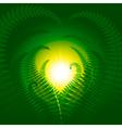 Magic fern vector image