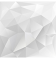 grey polygonal texture corporate background vector image