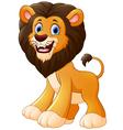 Lion cartoon vector image