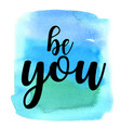 quote be you vector image