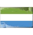 sierra leone national flag vector image