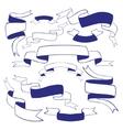 Vintage ribbons vector image
