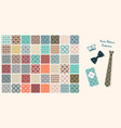 seamless fabric patterns vector image