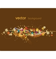 Vector abstract background vector image