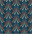Seamless Christmas pattern Trees firs on dark vector image