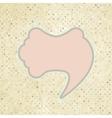 Speech bubble Template vector image