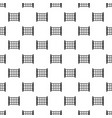 yard fence pattern vector image