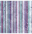pastel striped pattern vector image vector image