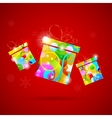 Colorful Gift vector image