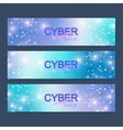 Cyber Monday Sale banner design Graphic abstract vector image