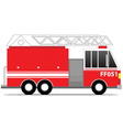Firefighter Car vector image