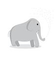 clip art elephant vector image