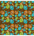 floral seasonal pattern vector image
