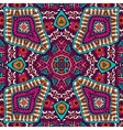 Abstract festive mexican ethnic pattern vector image