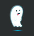Cute Ghost Single 1 vector image vector image