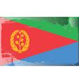 Eritrea national flag vector image vector image
